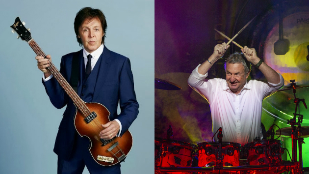 L A  Oldies - Paul McCartney, Nick Mason featured on new